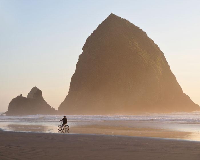Cannon Beach, photo by Christian Heeb, courtesy Travel Oregon.