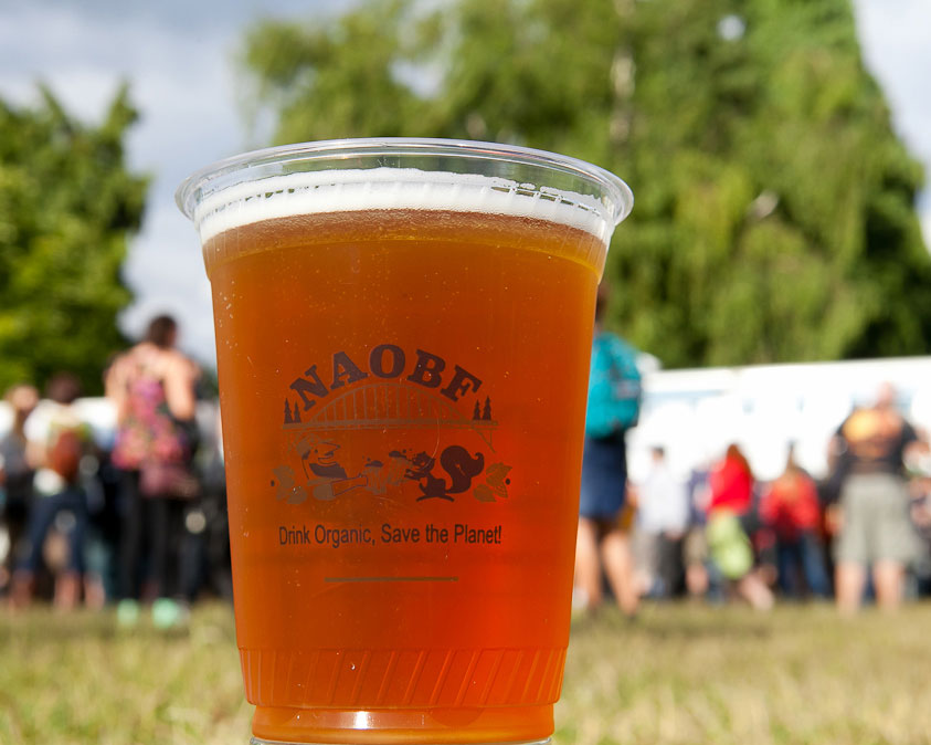 North American Organic Beer Festival, photo by Timothy Horn.