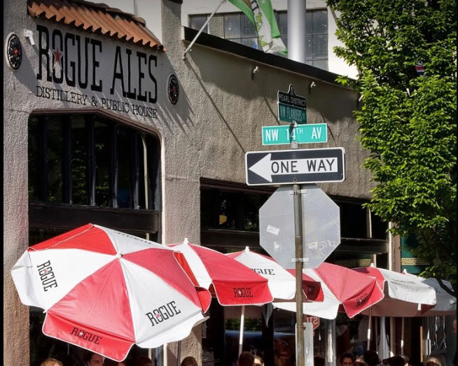 Rogue Distillery and Public House.