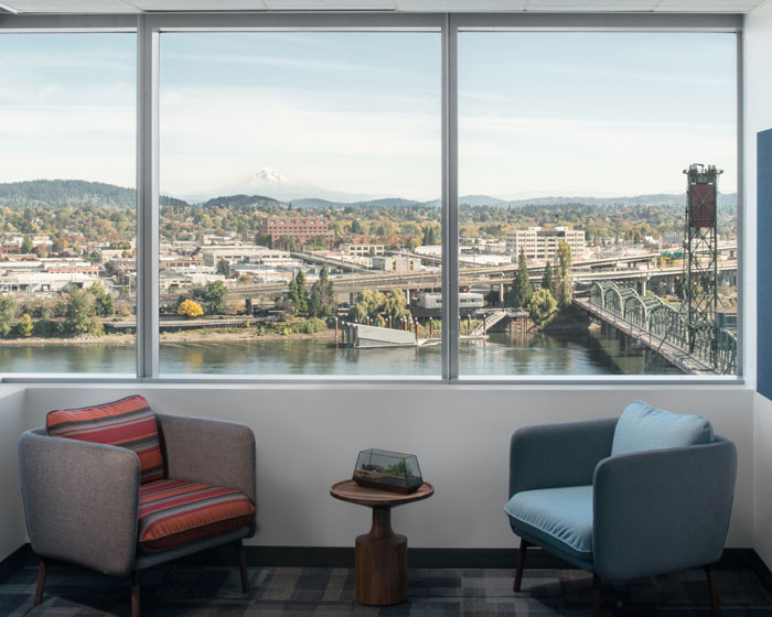 Travel Portland's new offices.